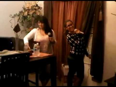 Ari and Mayra start up Karaoke