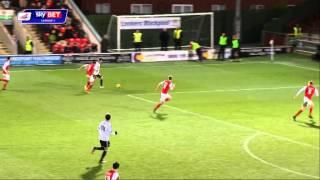 Fleetwood town 2-2 swindon - sky bet league 1 season 2014-15