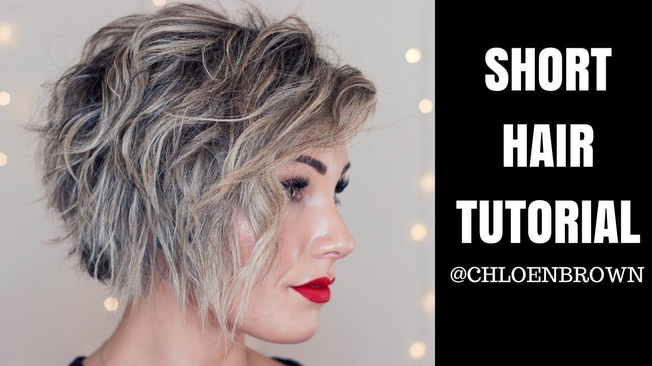 SHORT HAIR TUTORIAL | Easy 'Natural' Curls