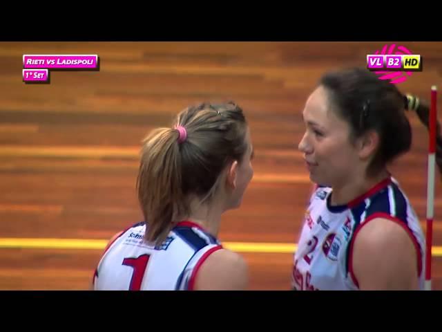 Rieti vs Ladispoli - 1° Set