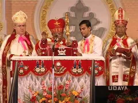 Beatification of Blessed Kunjachan at Ramapuram