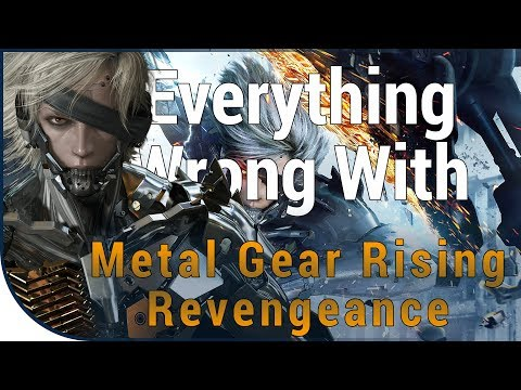 GAME SINS   Everything Wrong With Metal Gear Rising: Revengeance