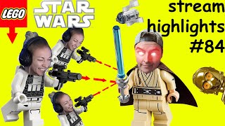 BULLYING MICKEY IN LEGO STAR WARS   Kruzadar Stream Highlights #84