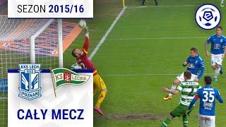 Lech Poznań - Lechia Gdańsk [1. połowa] sezon 2015/16 kolejka 34