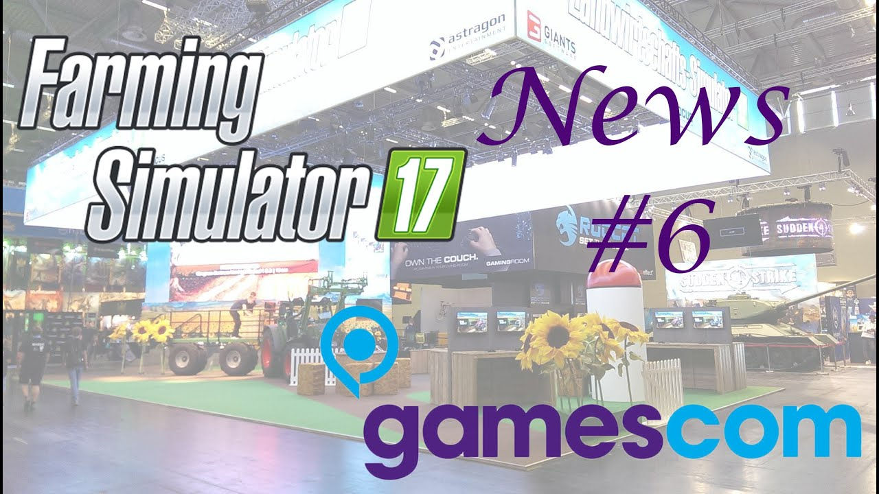 Farming Simulator 17 Gamescom News e Dev Blog sulle nuove Colture
