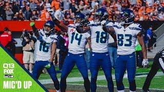 Tyler Lockett Mic'd Up Week 6 at Browns | Seahawks Saturday Night