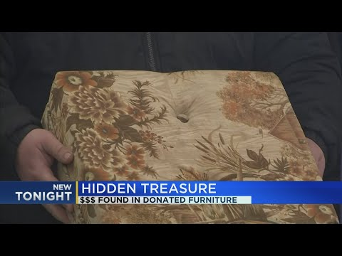 Over $40K found in donated furniture