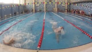 Спартакиада ОГК-2. Мужчины после 35. 3 заплыв