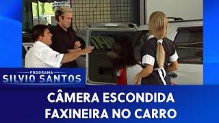 Faxineira No Carro | Câmeras Escondidas  28/06/20