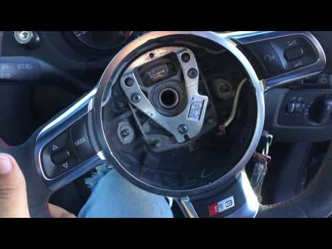 Audi A3/S3 Steering Wheel Removal And Replacement
