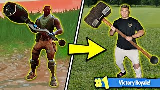 FORTNITE WEAPONS in REAL LIFE! (DIY BEST WEAPONS)