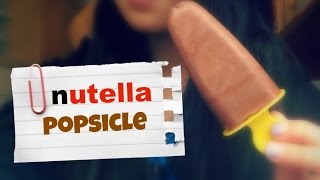Nutella Popsicles Diy