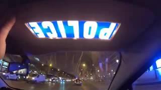 Balade en voiture de POLICE !