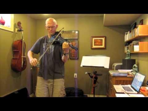 """Trevor Dick - Cantini MIDI Violin Solo   New World - """"Perpetuum"""""""