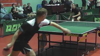 Алексей ВИНОГРАДОВ - Дмитрий БОБРОВ Настольный теннис, Table Tennis