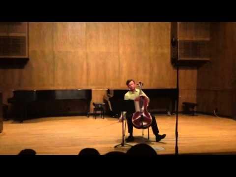 """Suite for Solo Cello"" by Ben Stevenson"