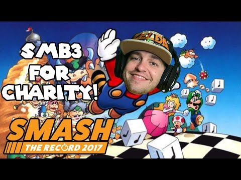 Raising Money FOR THE PEOPLE! Super Mario Bros 3 At Smash The Record!