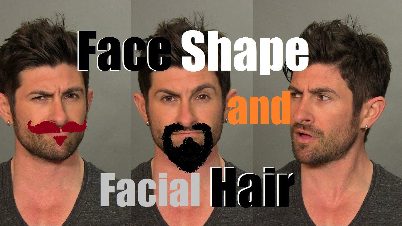 How To Choose Best Facial Hair Style Based On Face Shape Youtube
