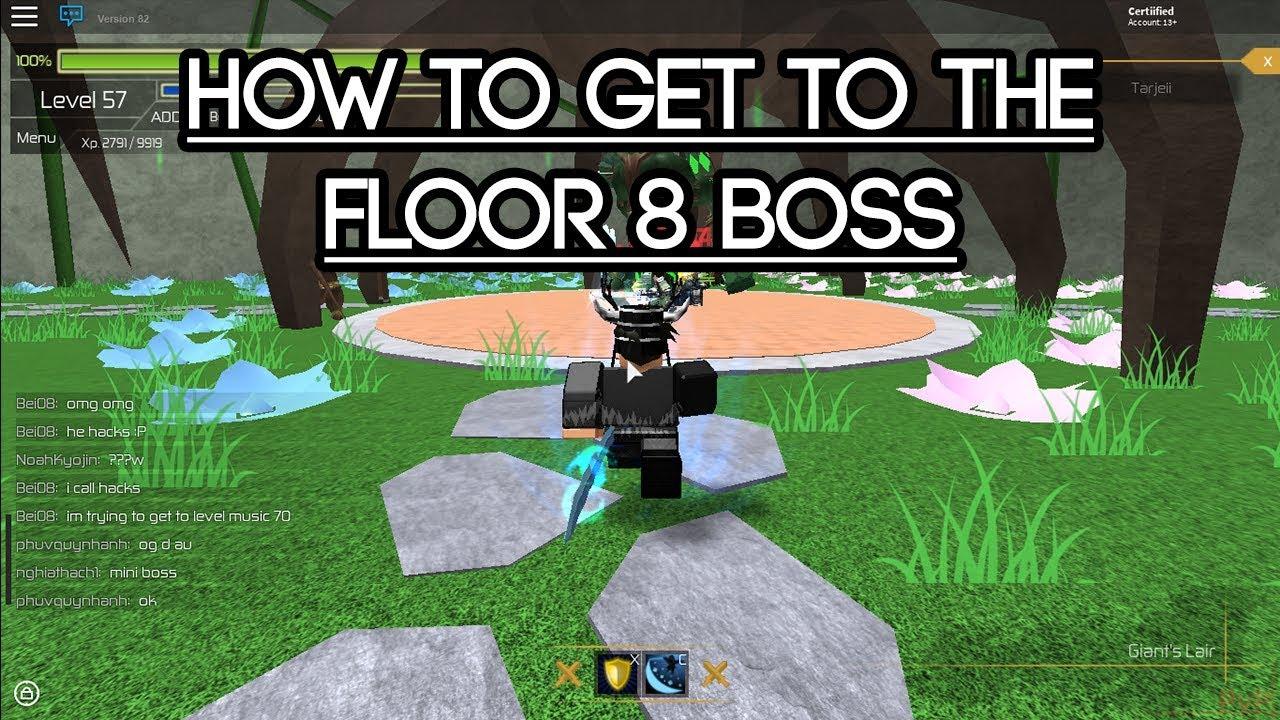 Roblox swordburst 2 how to get to the floor 8 boss youtube for Floor 2 boss swordburst 2