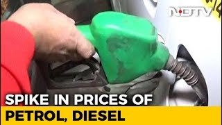 Petrol Price Touches Rs. 74.07 In Delhi, Highest Since September 2013