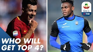 Who Will Get the Top 4?   Focus on the 6 Teams at the Top of the Serie A table   Serie A