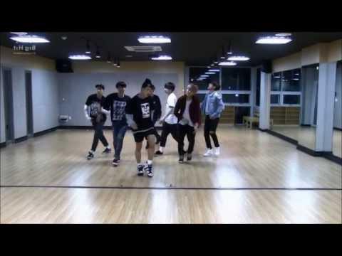 BTS - I NEED U dance (mirrored/slowed 50%)