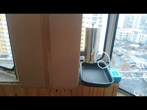 Холодное копчение на балконе
