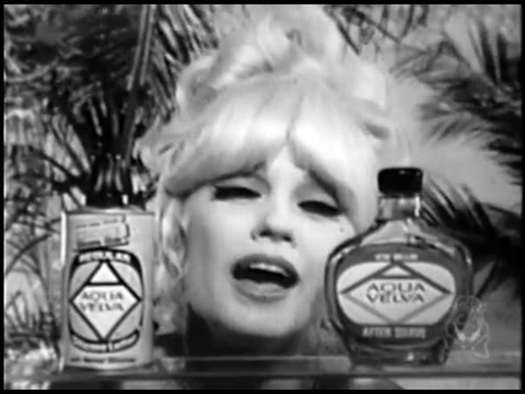 velva girls A mid 1960's tv commercial for aqua velva featuring the famous jingle slogan there's something about an aqua velva man as sung by actress mamie van doren t.