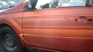 Curlys Pinstriping orange sentra patterns