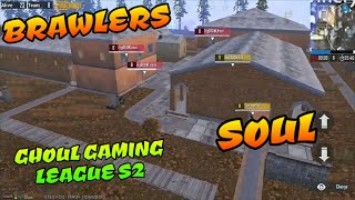 Soul vs EtgBrawlers Ghoul Gaming S2 pubg mobile India live stream Highlights