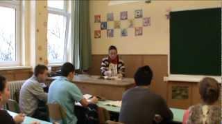 2012 12/B Szalagavató tanár paródiák