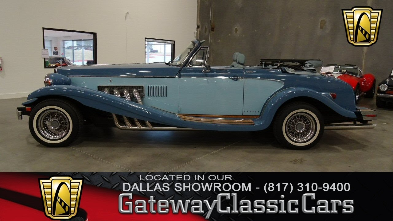 1982 Clenet 2 Door Coupe #379-DFW Gateway Classic Cars of Dallas ...