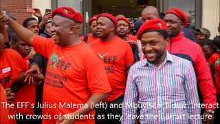 EFF  Ayasaba amagwala Led by Dr. Mbuyiseni Ndlozi