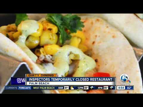 DIRTY DINING: 5 area restaurants temporarily closed down for multiple violations
