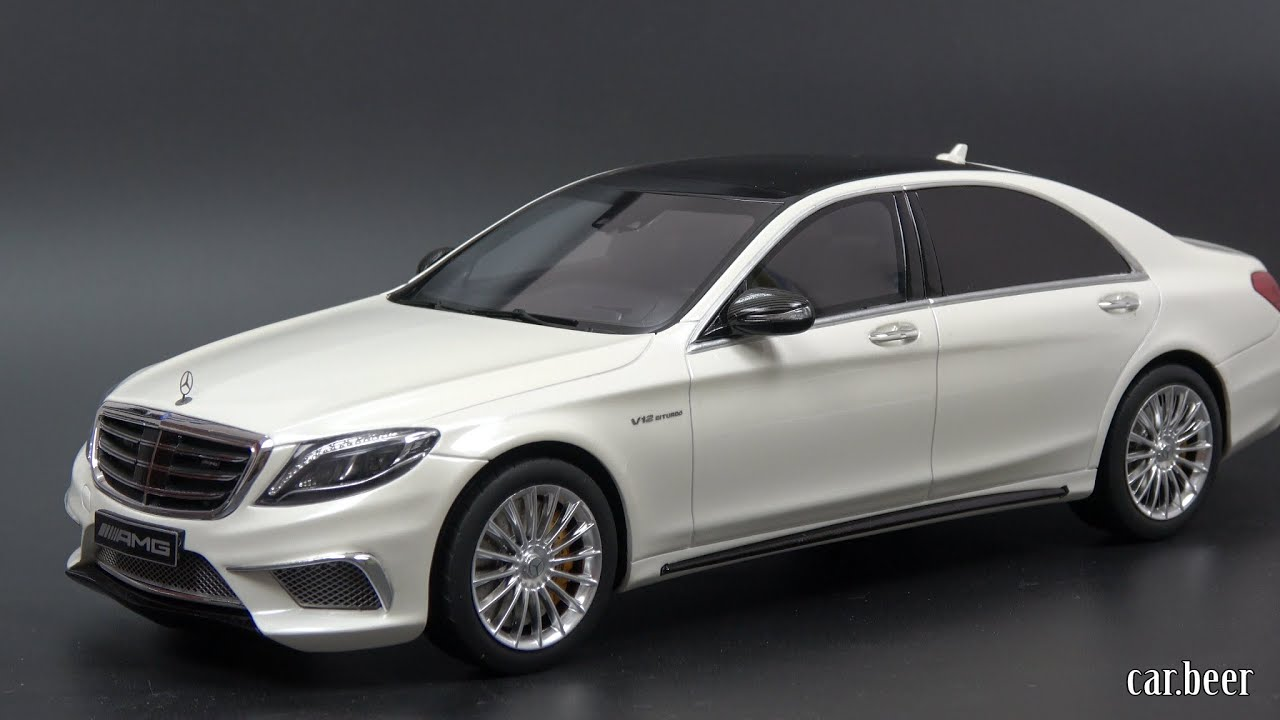 Cable Car Black And White Wallpaper 1 18 Gt Spirit Mercedes Benz S Class S65 Amg 2016