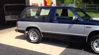1986 chevy s10 blazer