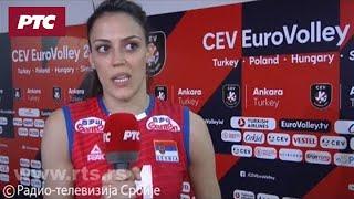 Izjave Stefane Veljković i Tijane Bošković nakon pobede nad Bugarskom