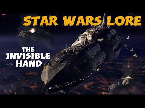 The Invisible Hand / Star Wars Lore -...