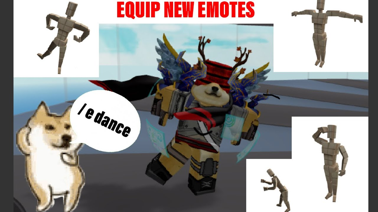 How To Equip New Roblox Emotes On Mobile Youtube