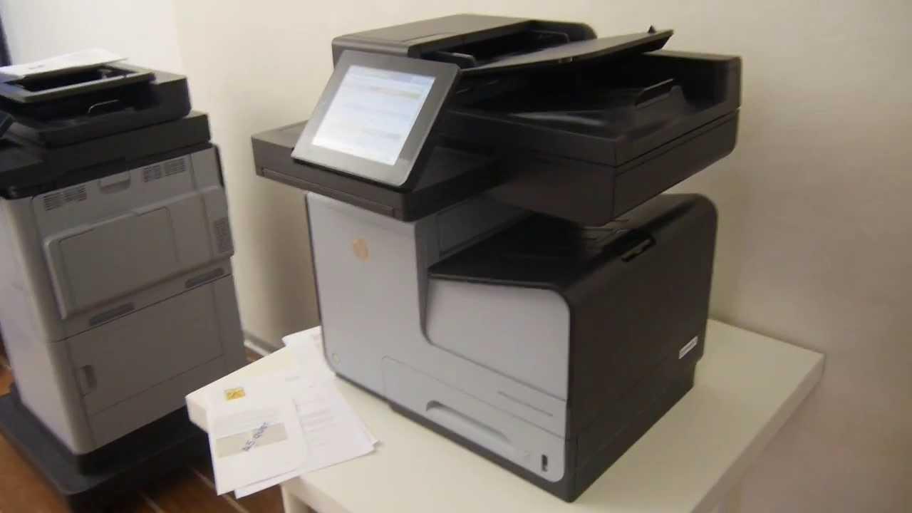 HP Officejet Enterprise Color MFP X585 Hands On