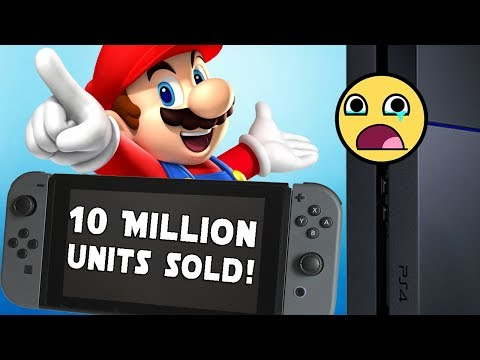 Nintendo Switch Aims to Outsell the PS4 in Year One Sales