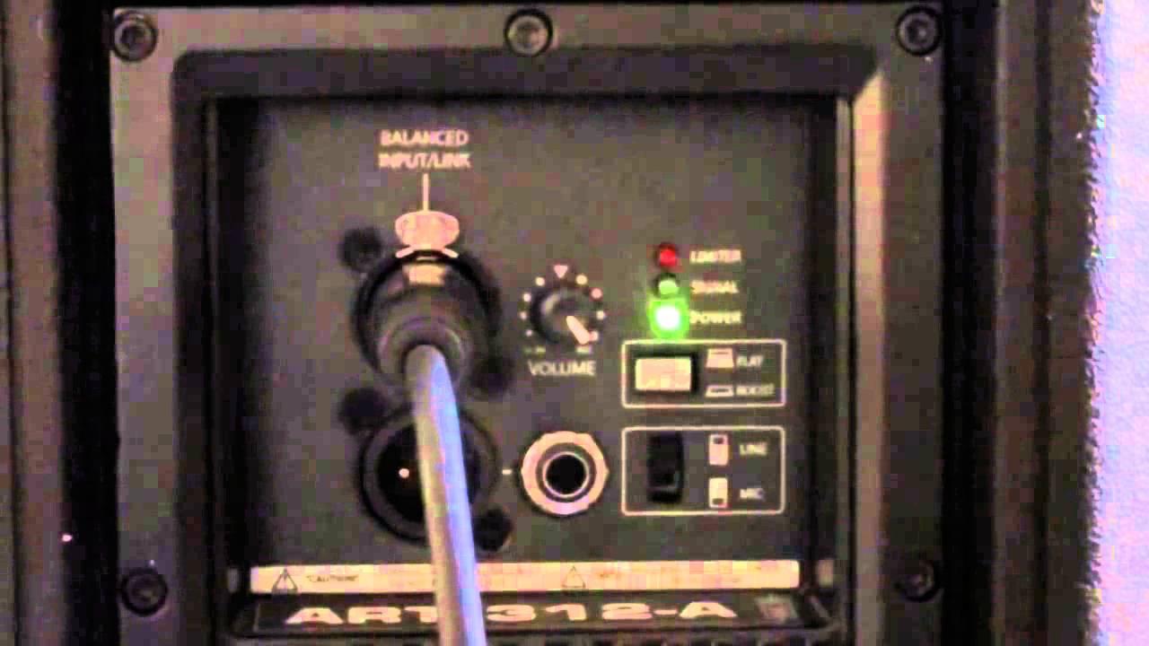 RCF ART 312A MKIII Active Speaker Video HD