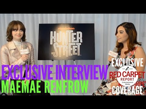 Interview with MaeMae Renfrow from Nickelodeon's Hunter Street about Season 2 premiering 1/29