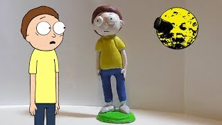 Making Morty From Rick and Morty