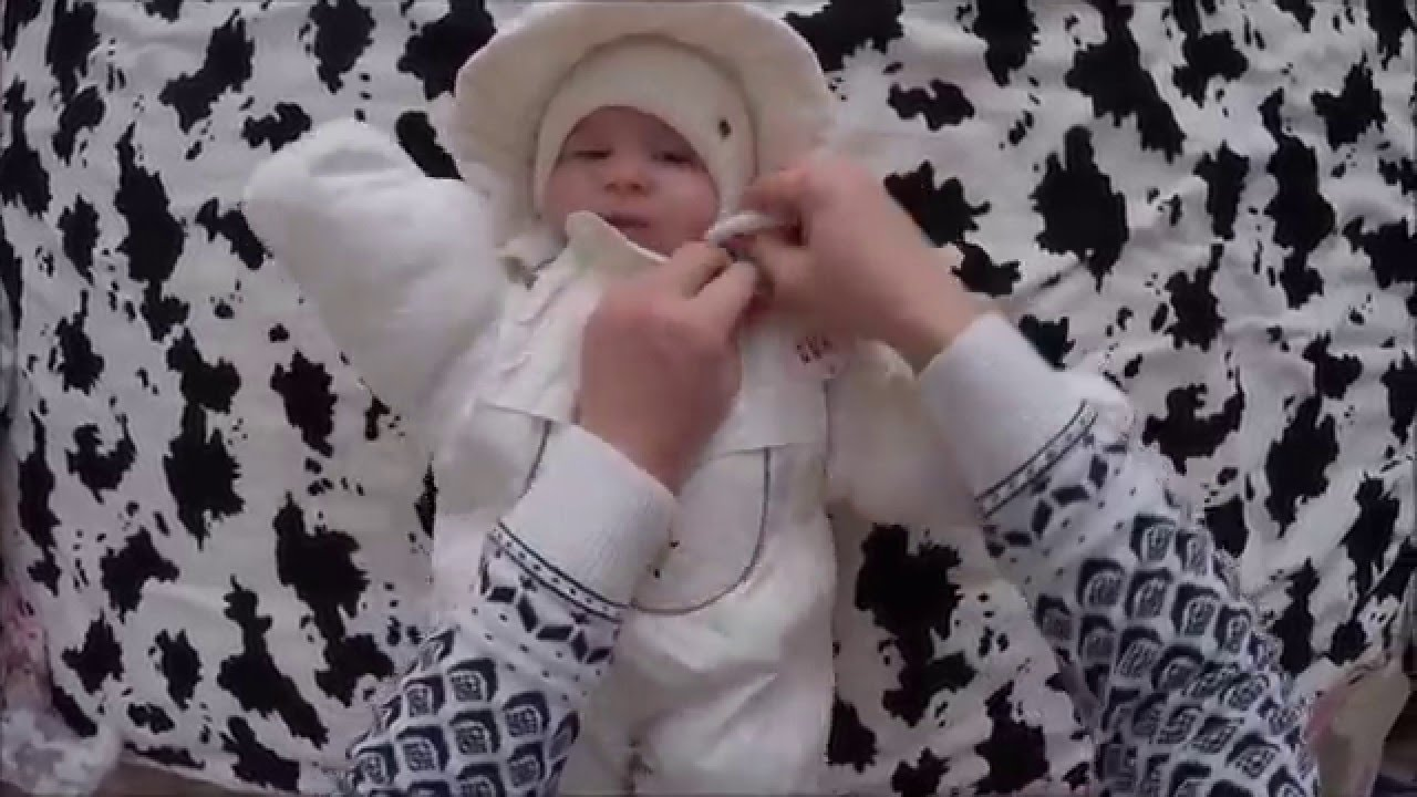 Супер детки. Как одевать ребенка зимой на улицу. - YouTube