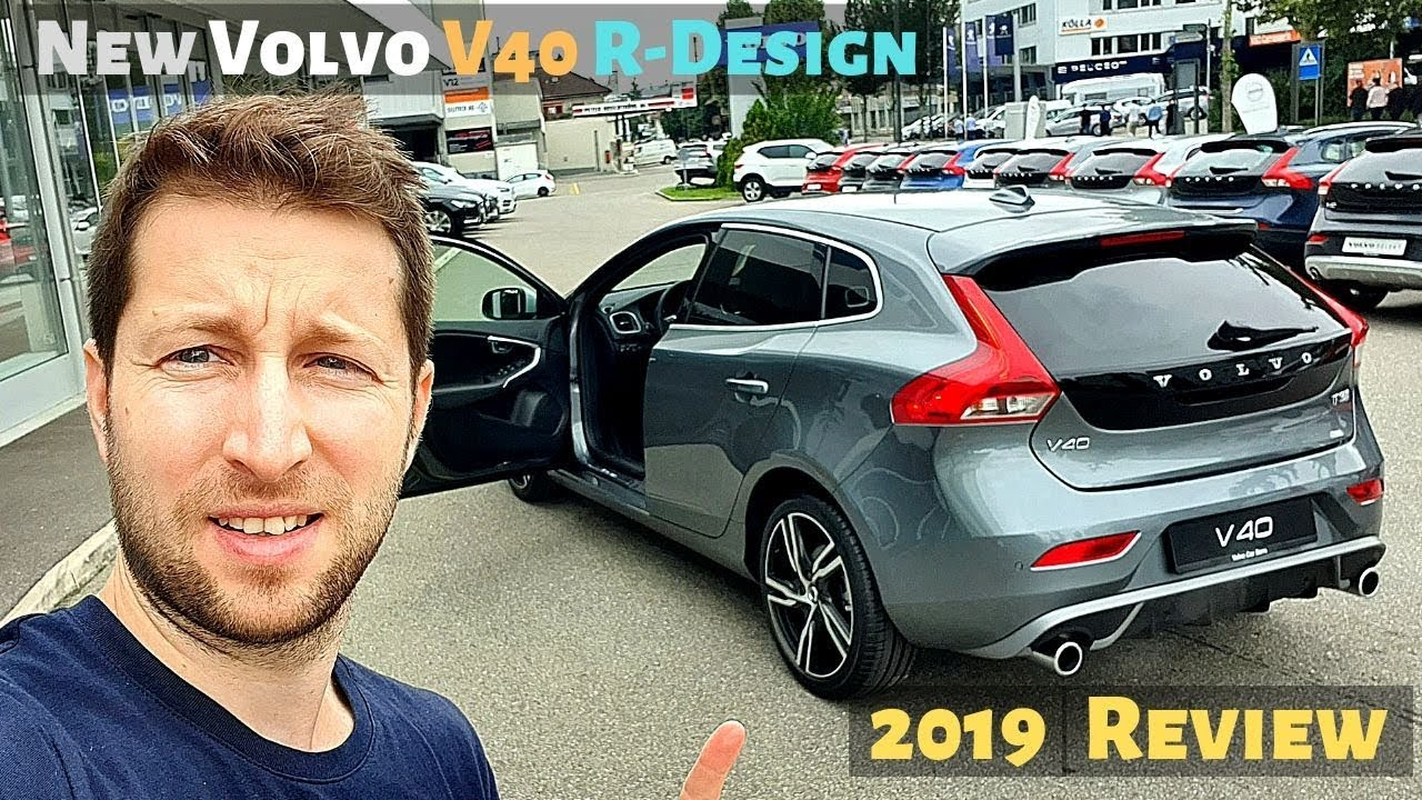 New Volvo V40 R Design 2019 Review Interior Exterior Youtube