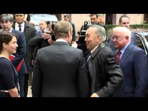 #Kazakhstan President Nursultan Äbishuly Nazarbayev arrives at European Council