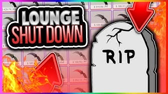 CSGO - CSGOLOUNGE SHUT DOWN!!! CSGO Lounge Betting Closed Down! (CS GO Site Banned)