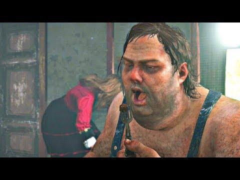 Red Dead Redemption 2 - Meeting Incest Hillbillies & Getting Poisoned (Secret Boss Fight)