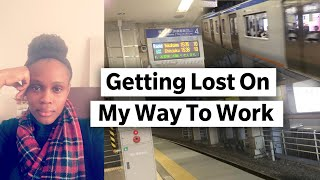 GETTING LOST ON MY WAY TO WORK | VLOGMAS DAY 1